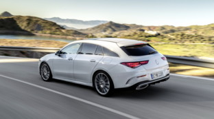 Ecco la Mercedes CLA Shooting Brake