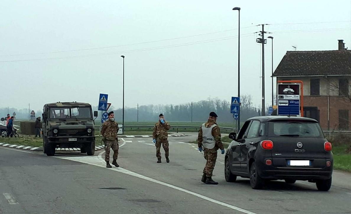 Coronavirus, nella zona rossa arriva l'Esercito: presidia 35 check point