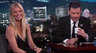 Jimmy Kimmel svela di cosa sa la candela alla vagina di Gwyneth Paltrow