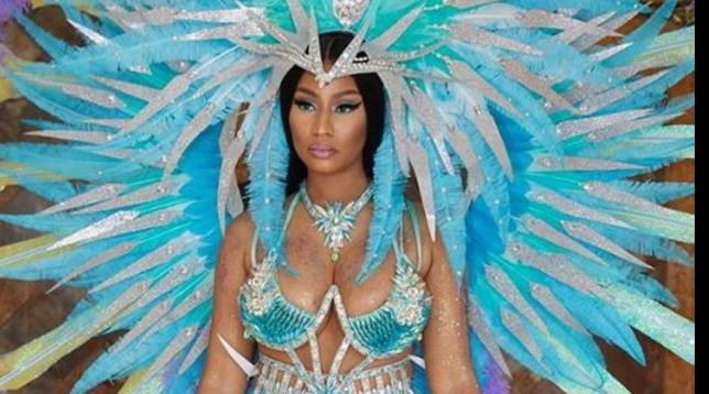 Nicki Minaj è esplosiva e sexy per il Carnevale di Trinidad