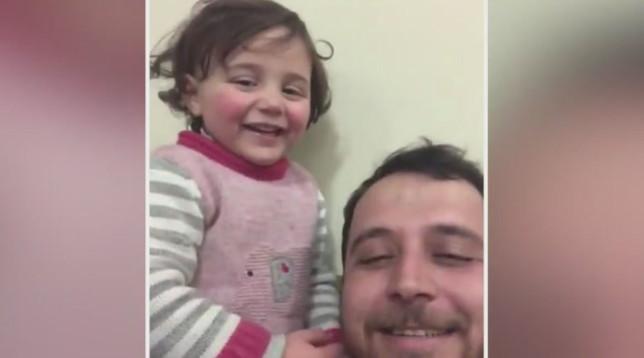 Siria, nuova vita per la piccola che