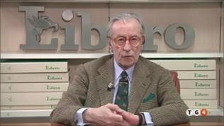 Coronavirus, Vittorio Feltri sulla lite tra Conte e Fontana