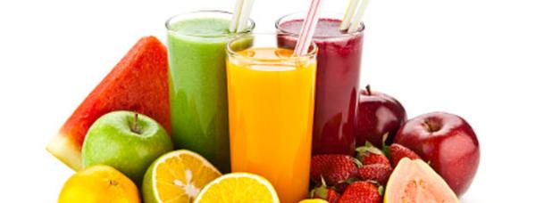Succhi di frutta al 100%