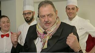 """Gianfranco Vissani a """"#Cr4"""": """"Pipistrelli no, ma ho cucinato la saliva di uccelli"""""""