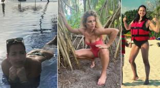 Spiaggiate alle Maldive: dalla moglie di Bonolis a quella di Abate, e poi Hunziker & Co