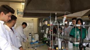 Coronavirus, alcuni studenti di Vibo preparano in laboratorio una soluzione igienizzante e la distribuiscono gratis