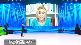 """Al serale di """"Amici 19"""" è subito Luciana Littizzetto show"""