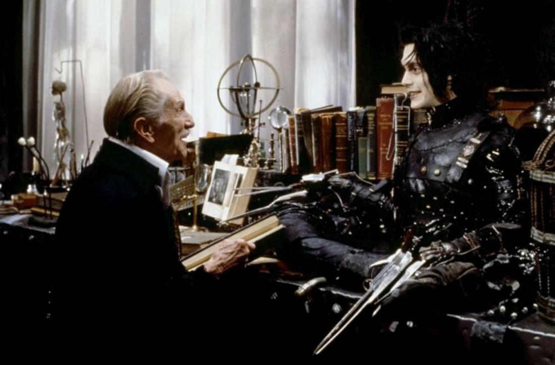 Eduardo Manostijeras (1990), dirigida por Tim Burton
