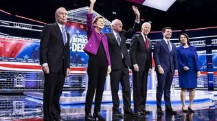 Primarie dei democratici, la classifica dei candidati in tempo reale