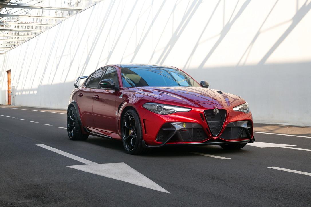 La super berlina per i 110 anni Alfa Romeo
