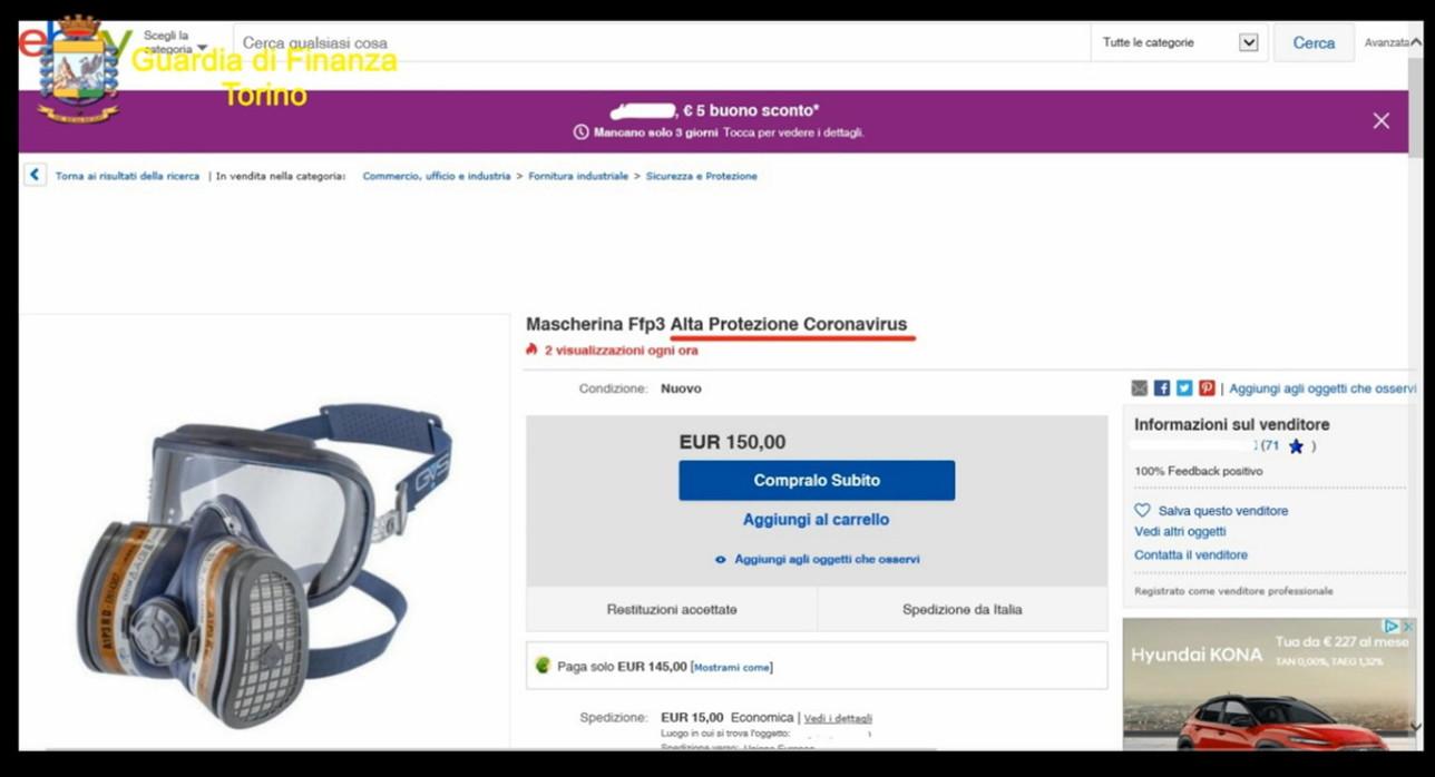 """""""Coronavirus shop"""", articoli spacciati come antidoti e venduti a prezzi folli"""
