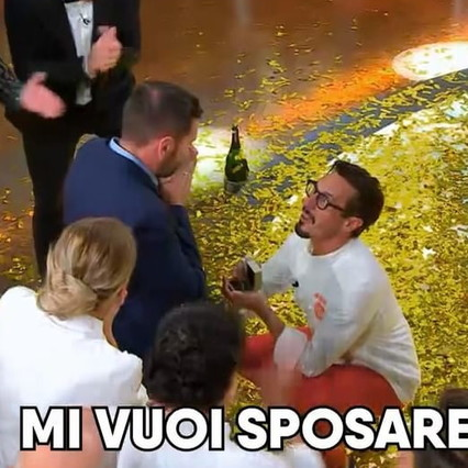 """Proposta di matrimonio a """"Chef"""" Italia: Antonio vince e chiede al suo compagno di sposarlo"""