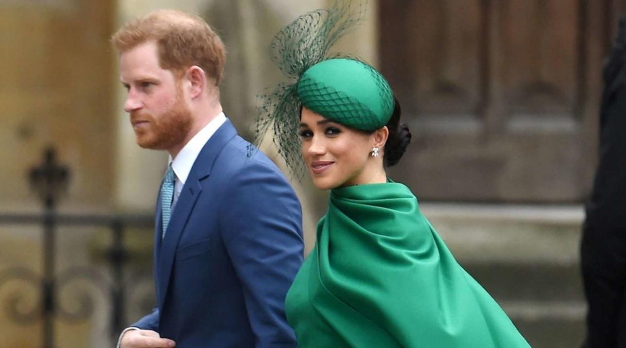 Harry e Meghan al loro ultimo impegno da royal senior