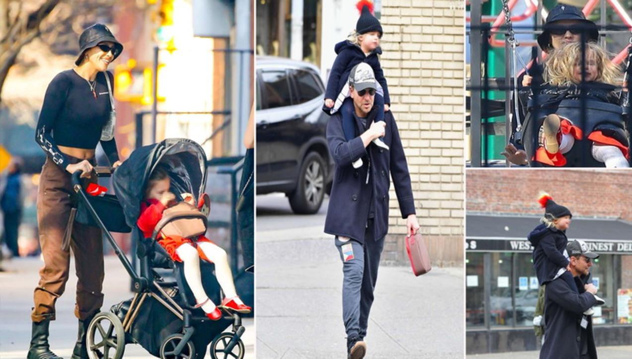 """Bradley Cooper e Irina Shayk, genitori """"a distanza"""" per la piccola Lea"""