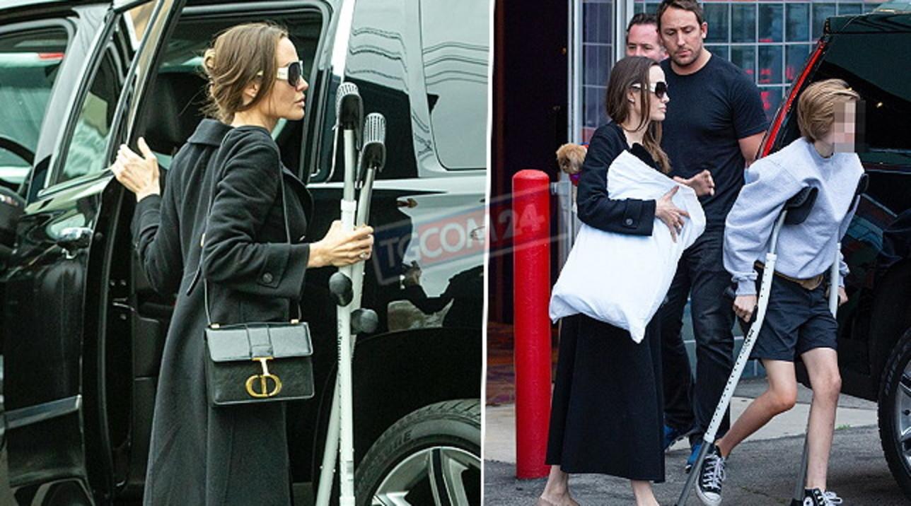 """Angelina Jolie: """"Ho trascorso gli ultimi mesi in ospedale con due delle mie figlie"""""""