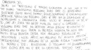 Jo Squillo: Martina, una lettera per comprendere la situazione nelle carceri italiane