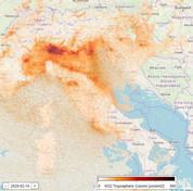 Coronavirus, in un mese calato lo smog sul Nord Italia