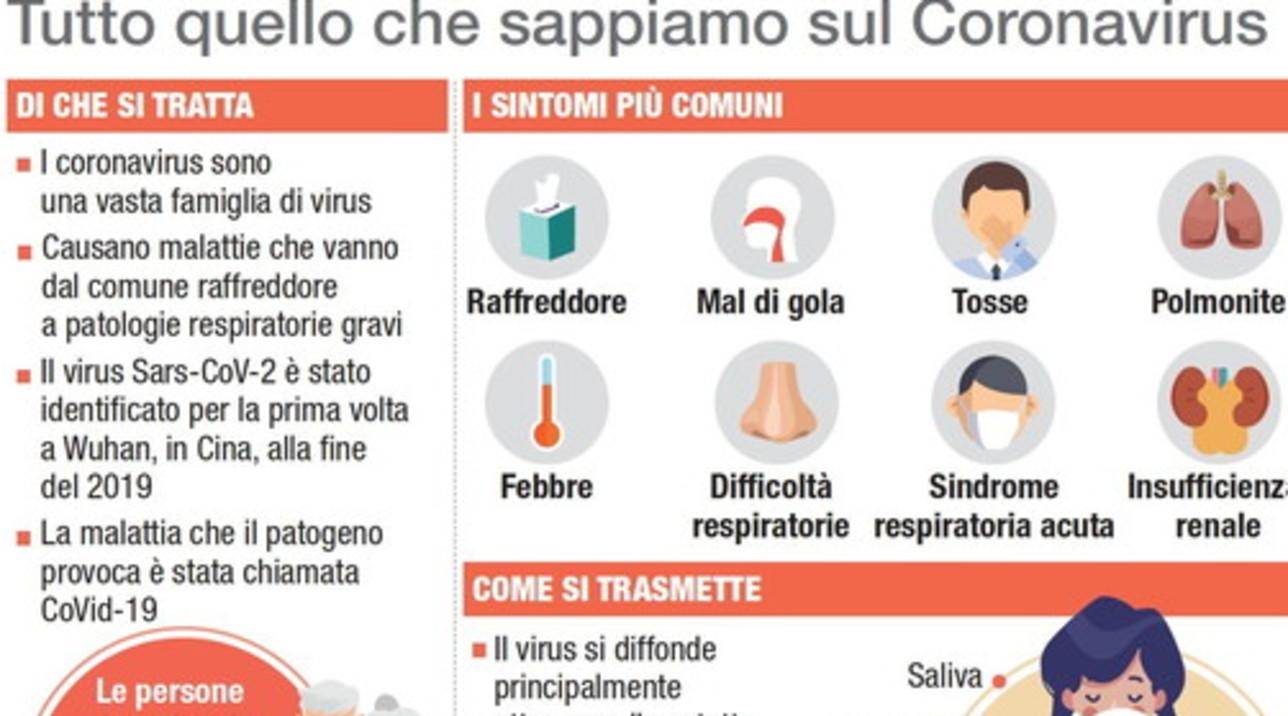 Coronavirus: cos'è e come difendersi, grafica per grafica