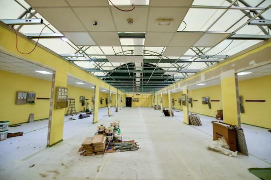 Milano, lavori in corso al San Raffaele per il nuovo reparto di terapia intensiva