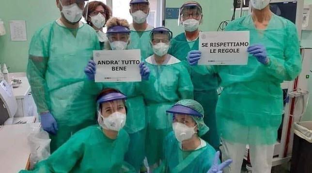 coronavirus, sanità, ospedali, medici, infermieri, #iorestoincorsia