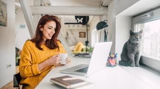 Tendenze: come attrezzare uno spazio per lo smart workingdentro casa