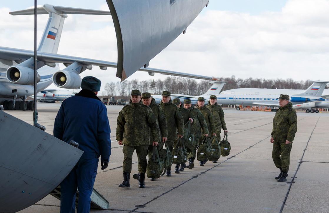 Coronavirus, partito il primo carico di aiuti da Mosca