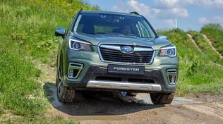 Forester e-Boxer, inizia l'era ibrida di Subaru
