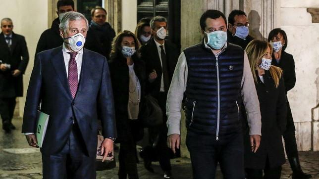 Coronavirus, le opposizioni a colloquio da Conte