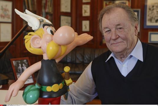 Albert Uderzo, il disegnatore di Asterix