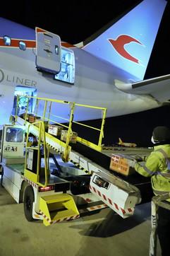 Coronavirus, atterratoa Milano volo dalla Cina con 1,5 milioni di mascherine