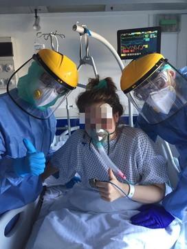 Coronavirus,paziente di 27 anni estubataa Genova: curata con nuovi farmaci