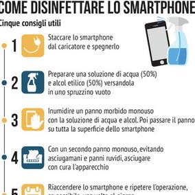 Come tenere lontanoil virus dallo smartphone
