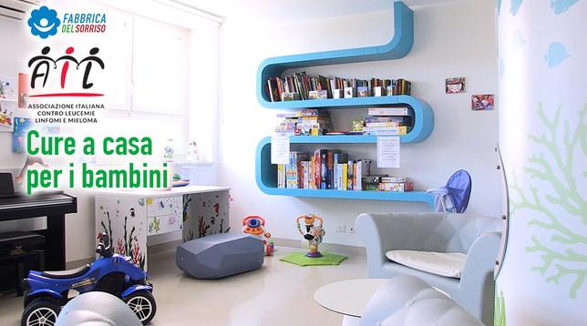 Insieme ad AIL per l'assistenza domiciliare dei bambini