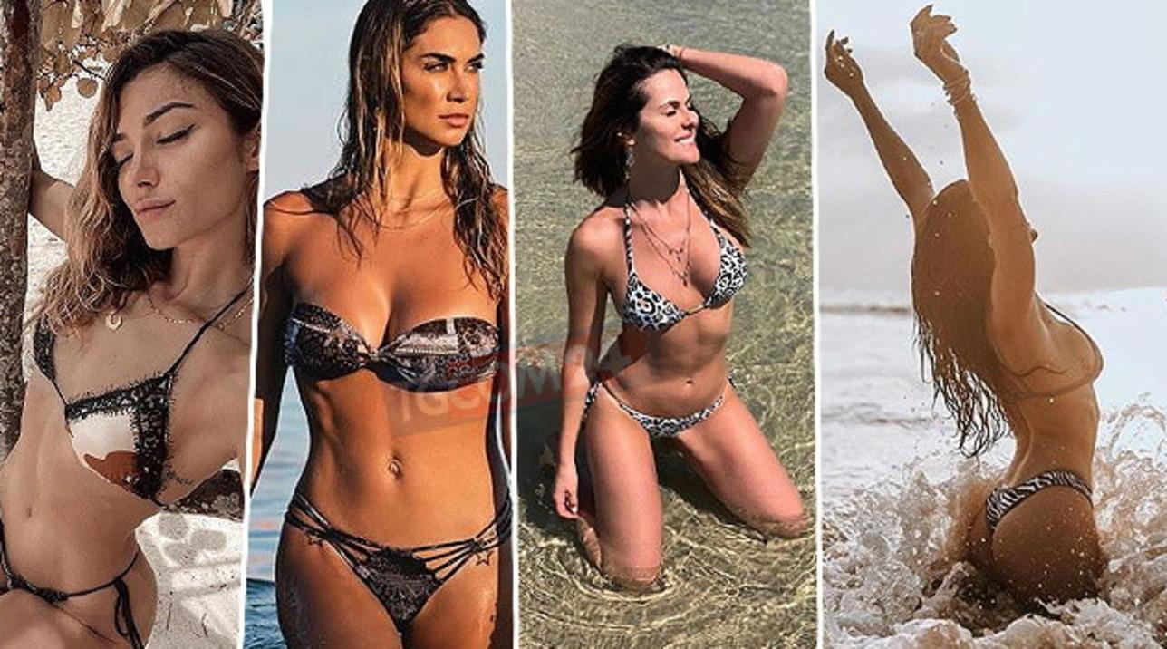 Le vip in quarantena sfogliano l'album dei ricordi, tutte in bikini su Instagram