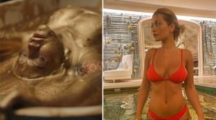 Rita Ora mezza nuda e... dorata per lanciare il suo singolo