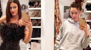 Vita da influencer: Paola Turani in quarantena molla gli abiti e promuove tute