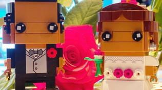 Magnini e Palmas in formato Lego: