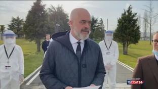 """Medici in Italia, il premier albanese: """"Non dimentichiamo chi ci ha aiutati"""""""