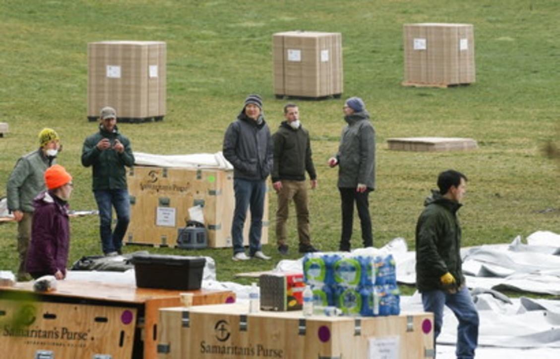 Coronavirus, New York prepara un ospedale da campo a Central Park