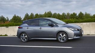 Nissan Leaf e+, la fruibilità è completa