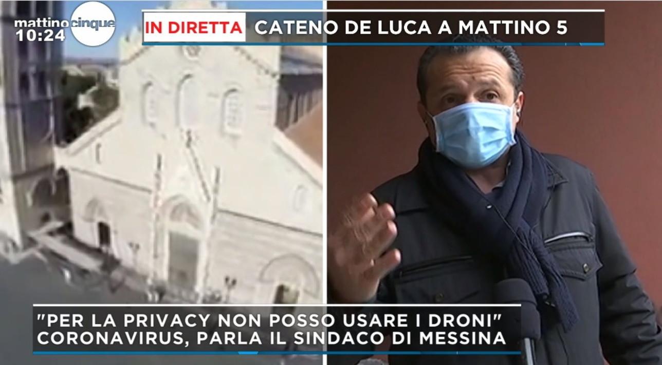 """Coronavirus, Cateno De Luca: """"Alimentiamo il virus e ammazziamo ..."""