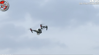 A Frattamaggiore (Napoli) la sanificazione si fa col drone