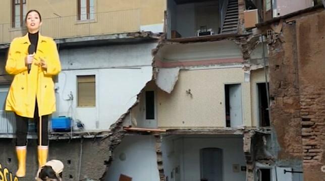Catania, sfollati da mesi dopo crollo: la quarantena in alloggi di fortuna di decine di persone