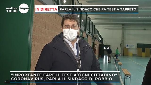 Il sindaco di Robbio (Pavia) fa test a tappeto:
