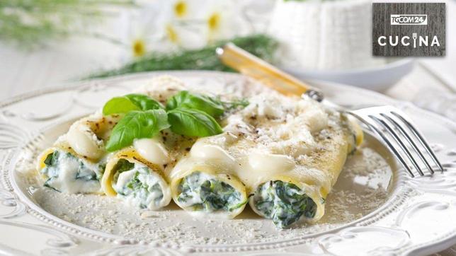 Cannelloni ricotta e spinaci, morbidezza che conquista