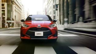 Toyota Yaris 4, nuove forme