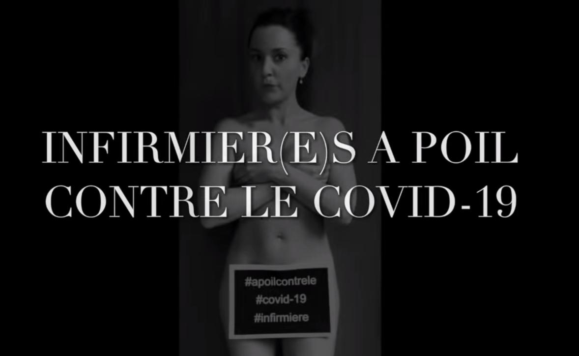 #NudicontroilCovid-19, gli infermieri francesi si spogliano per protesta