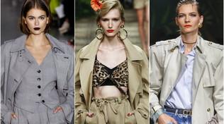 Moda: impermeabili con cintura e trench per la fine della quarantena