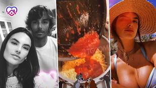 Alessandra Ambrosio, casa dolce casa tra spaghetti al sugo e bikini hot