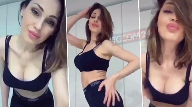 Per Anna Tatangelo una Tik-Tok dance bollente